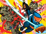Ninja vs Zombi ..