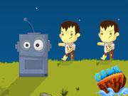 Zombies VS Rob ..